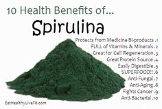 Spirulina is a blue-green algae found in salt and freshwater. People are using it as a supplement, but are you wondering what is Spirulina. Tomato Nutrition, Health And Nutrition, Sports Nutrition, Health Fitness, Fruit Benefits, Health Benefits, What Is Spirulina, Green Algae, Health Facts