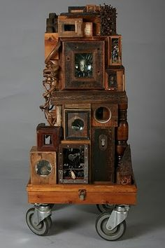 The City. Assemblage by Wayne Chisnall.