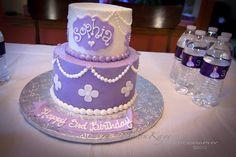 Buttercream Sofia cake