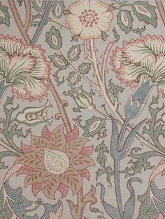 William Morris Lit Wallpaper, Pattern Wallpaper, Surface Pattern Design, Pattern Art, Textiles, Tapete Pink, Art Nouveau, William Morris Art, Morris Wallpapers