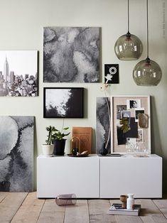 Gör en tavelvägg med KALVIA | IKEA Sverige - Livet Hemma | Bloglovin'