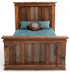 When we get a bigger house I am so building this bed frame for myself!  www.woodlandcreekfurniture.com