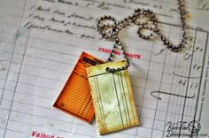 Shrinky Dinks Jewelry using Free Antique Printables from KNICK OF TIME @ knickoftimeinteriors.blogspot.com