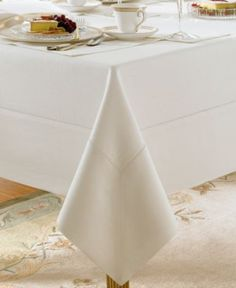 "Waterford Addison 70"" x 84"" Tablecloth - Table Linens - Dining & Entertaining - Macy's"