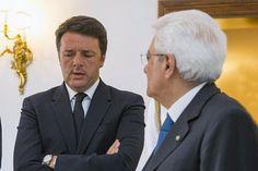 Renzi da Mattarella