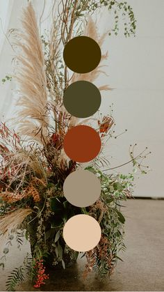 FTG's Wedding Color Palette Collection  — For The Good Weddings and Events