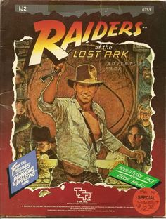 Vintage RPG: TSR: Tabletop Role-Playing Game - Raiders of the Lost Ark
