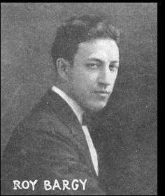 Pianist Roy Bargy got his professional start accompanying films in silent movie houses in Toledo, Ohio.