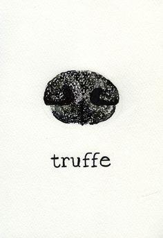 truffe. truffle dog nose.  thefrancofly.com by Jessie Kanelos Weiner