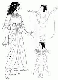 Egyptian Dress Tunic Fancy Pattern
