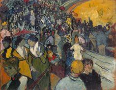 Les Arènes, 1888 by Vincent van Gogh