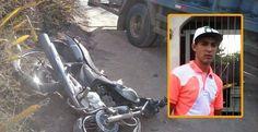 Várzea da Roça - Acidente envolvendo moto e caminhão deixa uma vítima fatal