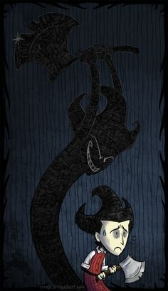 Wilson and his shadow by RRRAX on deviantART