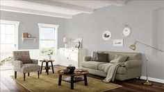 Benjamin Moore - silver dollar and baby's breath