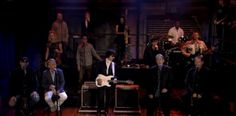 The Beach Boys' Brian Wilson, Al Jardine and David Marks performed on Late Night with Jimmy Fallon last night on 10-10-13,,,they preformed 'Our Prayer' (from the LP Smile) and the classic 'Danny Boy.' It was amazing..if you did not stay up to watch you can look at it here...http://www.latenightwithjimmyfallon.com/blogs/2013/10/brian-wilson-and-jeff-beck-our-prayer-and-danny-boy/