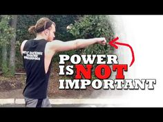 Power is NOT Important When Throwing a Punch - YouTube