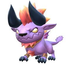 View an image titled 'Babyhemoth Art' in our World of Final Fantasy art gallery featuring official character designs, concept art, and promo pictures. Final Fantasy Characters, Final Fantasy Art, Character Art, Character Design, Design Comics, Fantasy Monster, Monster Design, Toy Craft, Creature Design