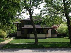 Frank Lloyd Wright home, Rochester, NY