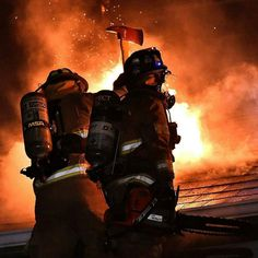 FEATURED POST @Regrann from @wulfffy - Unionville firefighter Stamm and Prospect firefighter Blackwood doing some roof work at last night's house fire. Photo Credit to Dave Prelosky of the Butler Eagle. . CHECK OUT! http://ift.tt/2aftxS9 . Facebook- chiefmiller1 Periscope -chief_miller Tumbr- chief-miller Twitter - chief_miller YouTube- chief miller Use #chiefmiller in your post! . #firetruck #firedepartment #fireman #firefighters #ems #kcco #flashover #firefighting #paramedic #firehou...