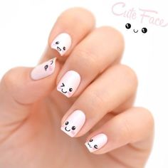 In search for some nail designs and some ideas for your nails? Here is our listing of must-try coffin acrylic nails for modern women. Cute Nail Art Designs, Cat Nail Designs, Girls Nail Designs, Nail Art Designs Videos, Minimalist Nails, Nail Swag, Nail Art For Kids, Animal Nail Art, Cat Nail Art