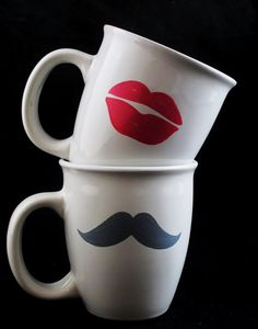 his & hers coffee cups