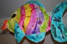 Kids Love Craft: Large Newspaper Stuffed Fish
