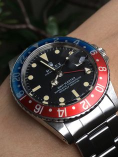 #rolex #1675 #gmt pre-owned in store now 732-542-0456 www.towncountryjewelers.com
