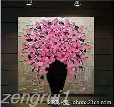 abstract oil paintings of flowers - Google Search
