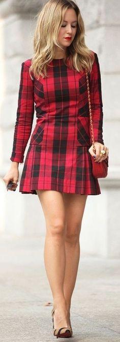 Tartan dress - I love this dress but would prefer it a little longer