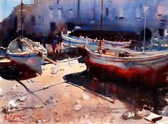 Alvaro Castagnet Watercolor Workshop Review, pt. 1