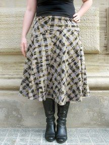 Graphic Skirt by Lunn - love!