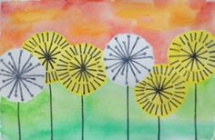 ARTventurous: Watercolor Dandelions