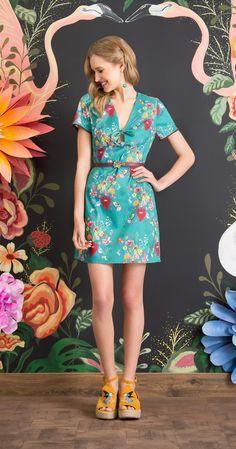Só na Antix Store você encontra Vestido Coração de Flores com exclusividade na internet