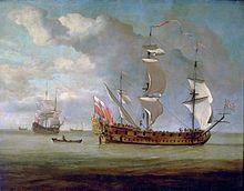 """Adventure Galley"",  schip van William Kidd."