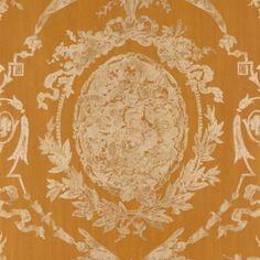 Ralph Lauren ABBEYWOOD DAMASK ANTIQUE GOLD Wallpaper
