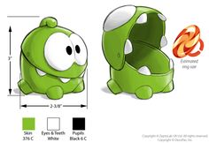 """""""Cut The Rope"""" Toy Design by Cedric Hohnstadt, via Behance"""