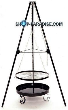 SHOP-PARADISE.COM:  Schwenkgrill 65cm, Holzkohlegrill Landmann 169,99 €