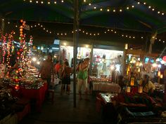 Chang Mai night market