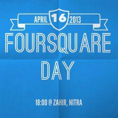 #Nitra celebrates #4sqDay