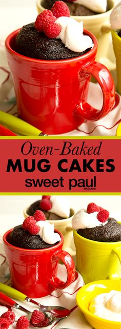 I love the charming and festive look of mug cakes, but I've never been a fan of the ones that are baked in the microwave. Don't get me wrong—I'm not going to get in between anyone and a delish serving of cake—I just prefer that oven-baked taste and texture.