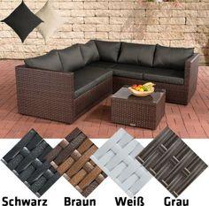 Poly-Rattan Lounge-Set LIBERI, Aluminium-Gestell (3er Sofa + 2er Sofa + Tisch 55 x 55 cm + 9 cm Polster / Kissen) Jetzt bestellen unter: https://moebel.ladendirekt.de/garten/gartenmoebel/loungemoebel-garten/?uid=8694259c-0376-5411-9820-09addb9fcab7&utm_source=pinterest&utm_medium=pin&utm_campaign=boards #loungemoebelgarten #garten #gartenmoebel