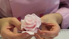 fondant rose tutorial