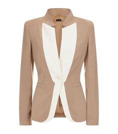 Escada Bilquis Jacket, taupe.  Shop women's designer jackets online at harrods.com & earn Rewards points.