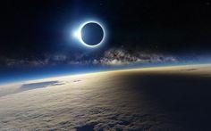 3840x2400 Wallpaper solar eclipse, april, 2014, antarctica, australia, indonesia