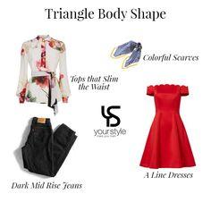 64123f04b8 Tips for Triangle Body Shape! 👗 Dicas para o formato de corpo Triângulo! 👗
