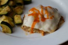Buffalo Turkey Burger. Low carb and packed with flavor! Great after a bariatric surgery.