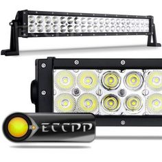 ECCPP Off Road LED Work Light Bar Auxiliary Driving Lamp Flood Spot Combo Beam For Cabin/UTE/SUV/ATV/Truck/Car/Boat/Fishing excavator/engineering vehicle/mining vehicle/beach car/fire truck/rescue vehicles/police car/Garden square/industrial plant Best Led Light Bar, Led Work Light, Led Light Bars, Work Lights, Spot Lights, Buy Led Lights, Off Road Led Lights, 4 4 Jeep, Jeep 4x4