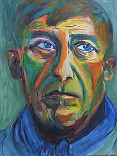 Self Portrait, Oskar Kokoschka