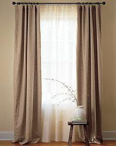Mind Blowing Useful Tips: Curtains Classic Beach Houses curtains living room pink.Old Lace Curtains curtains ideas for classroom.How To Make Drop Cloth Curtains. Sheer Linen Curtains, Brown Curtains, Double Curtains, Drop Cloth Curtains, Door Curtains, Curtain Panels, Curtains With Sheers, Velvet Curtains, Canvas Curtains