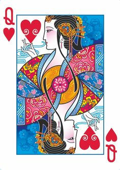 Joanne Lin is raising funds for Bicycle® Emperor Playing Cards by USPCC on Kickstarter! A playing card deck with art inspired by ancient Chinese legends. Intricate, custom designs never seen before. Unique Playing Cards, Hearts Playing Cards, Playing Cards Art, Custom Playing Cards, Playing Card Design, Vintage Playing Cards, Art Graphique, Art Design, Chinese Art